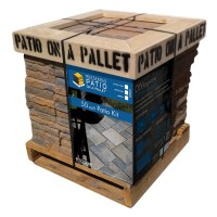 Shop Sereno Rectangle Shape 50-sq -ft Patio on a Pallet ...