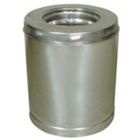 Shop SuperVent 6-in x 12-in Stainless Steel Chimney Pipe ...