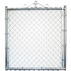 Shop Galvanized Steel Chain-Link Walk Gate (Fits Opening