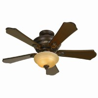 Shop Hunter 44-in Multi-Position Ceiling Fan with Light ...