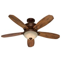 Shop Hunter 52-in Northern Sienna Multi-Position Ceiling ...