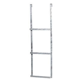 Shop Amerimax 3.875-ft Steel 300-lbs Fire Escape Ladder at