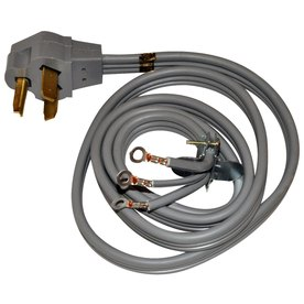 50 Amp Extension Cord Wiring Diagram Shop Whirlpool 174 4 Foot 3 Wire 30 Amp Dryer Cord At Lowes Com