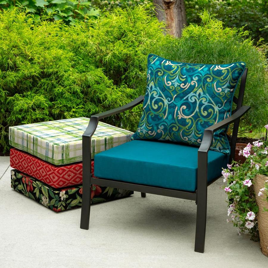 outdoor dining chair cushions lowes