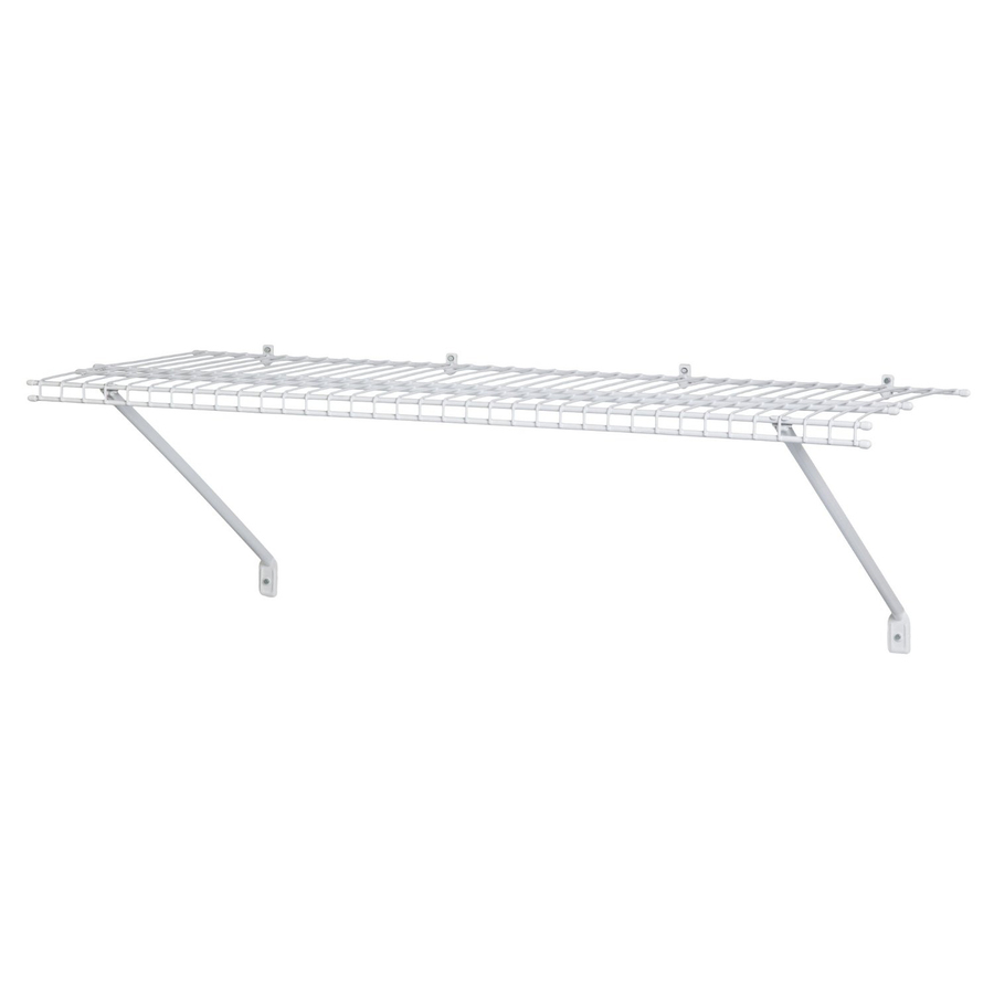 Shop ClosetMaid 48-in Wire Wall Mounted Shelving at Lowes.com