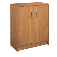 Shop ClosetMaid Stackable Alder 2-Door Storage Cabinet at ...
