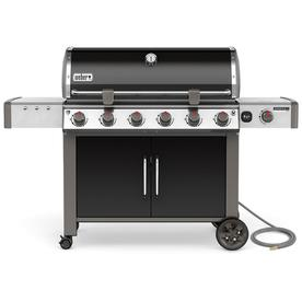 The Char Broil 3 Burner Grill A View Under Hood