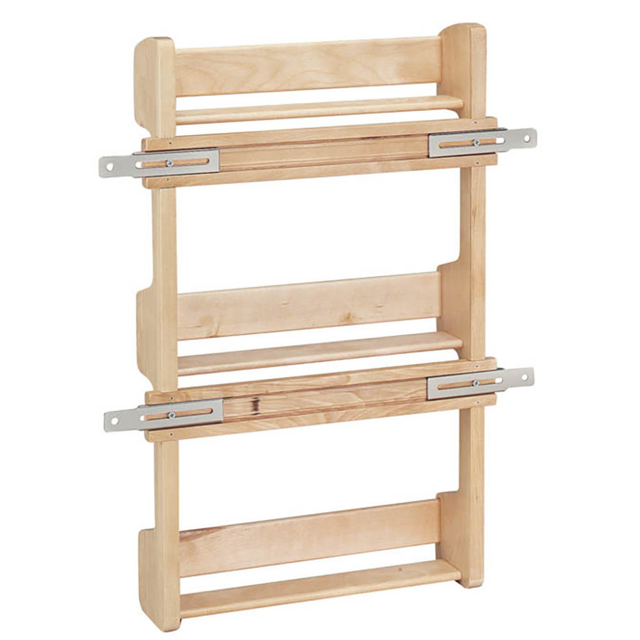Shop RevAShelf Wood InCabinet Spice Rack at Lowescom
