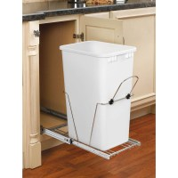Shop Rev-A-Shelf 50-Quart Plastic Pull Out Trash Can at ...