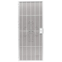 Security Screen Doors: Metal Security Screen Doors Lowes