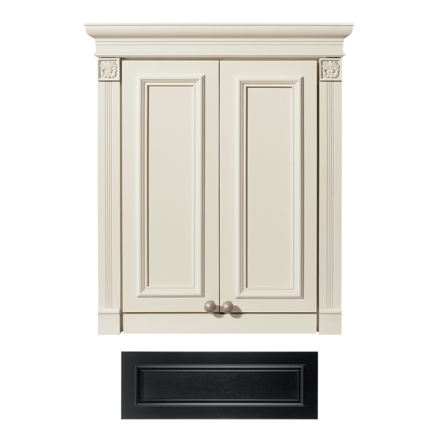 Bathroom Storage Cabinets At Lowes : Excellent Red