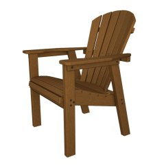 Stackable Resin Adirondack Chairs Chair Cover Rentals Dallas Texas Us Leisure Cappuccino At Lowes Com Seashell Teak Recycled Plastic Casual