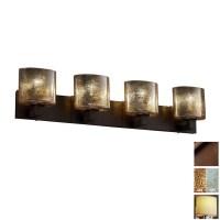 Shop Cascadia Lighting 4-Light Fusion Modular Dark Bronze ...