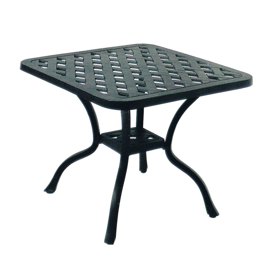 Cast Aluminum Cast Aluminum Patio Table