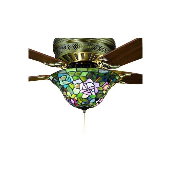 Tiffany Glass Ceiling Fan Light Kits