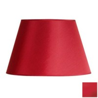 Shop Cascadia Lighting 10-in x 16-in Red Drum Lamp Shade ...