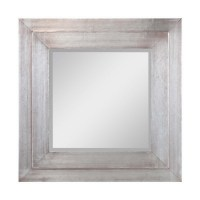 Cooper Classics 24 in x 24 in Silver Square Framed Wall ...