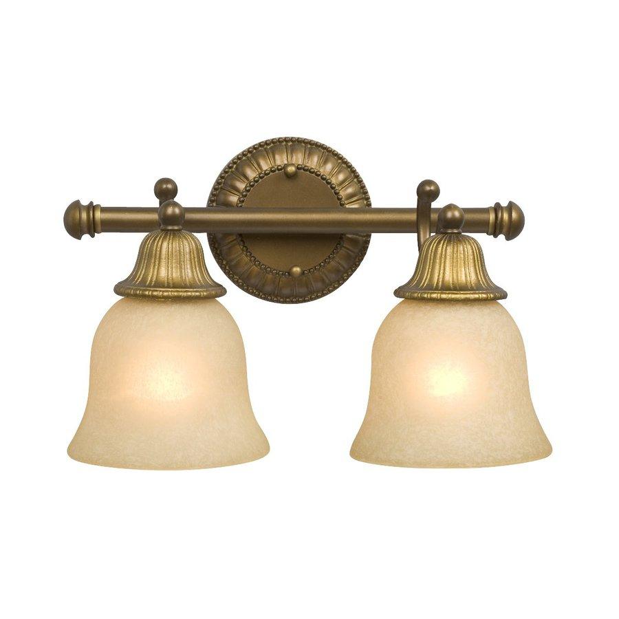 Shop Galaxy 2Light Brymor ParisianAntique Brass Standard