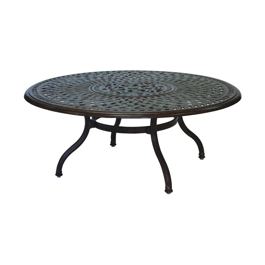 Shop Darlee Series 60 Aluminum Round Patio Coffee Table at