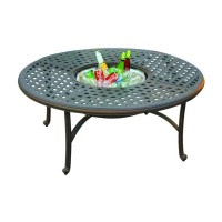Shop Darlee Series 30 Aluminum Round Patio Coffee Table at ...