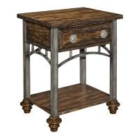 Glass nightstand on Shoppinder