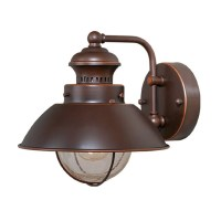 Shop Cascadia Lighting Nautical 8-in H Burnished Bronze ...