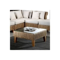 Shop Hospitality Rattan Seagrass Natural Square Coffee ...