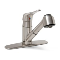 Shop Premier Faucet Sonoma Brushed Nickel 1-Handle Pull ...