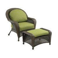Shop Outdoor Greatroom Company Balsam Wicker Patio Chair ...