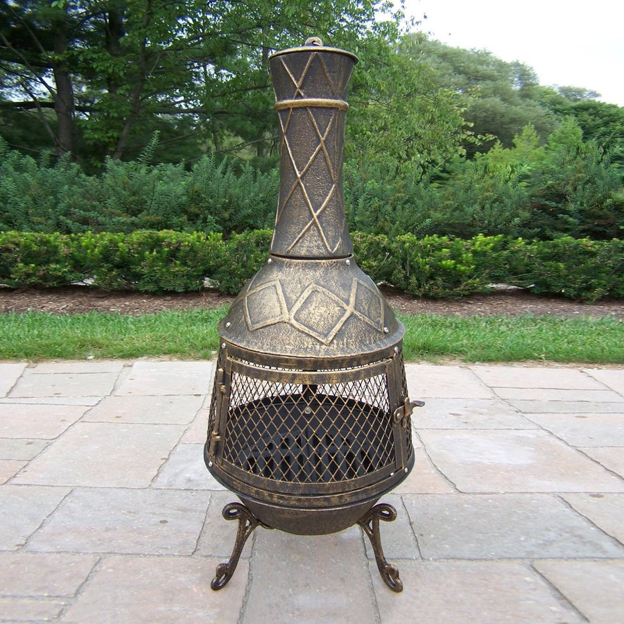 Outdoor Wood Burning Fireplace