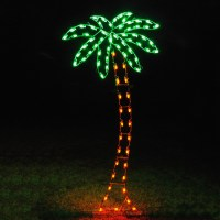 Shop Holiday Lighting Specialists 8.83-ft Palm Tree ...