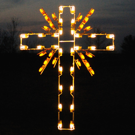 Shop Holiday Lighting Specialists 392ft Cross Outdoor