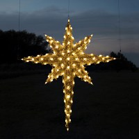 Shop Holiday Lighting Specialists 6.83-ft Moravian Star ...