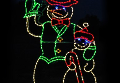 Christmas Outdoor Decorations Animated Lights