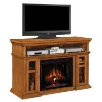 Shop 60-in W 5,200-BTU Oak Wood Infrared Quartz Electric ...
