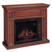 Shop Chimney Free 53-in W 4,600-BTU Premium Cherry Wood ...