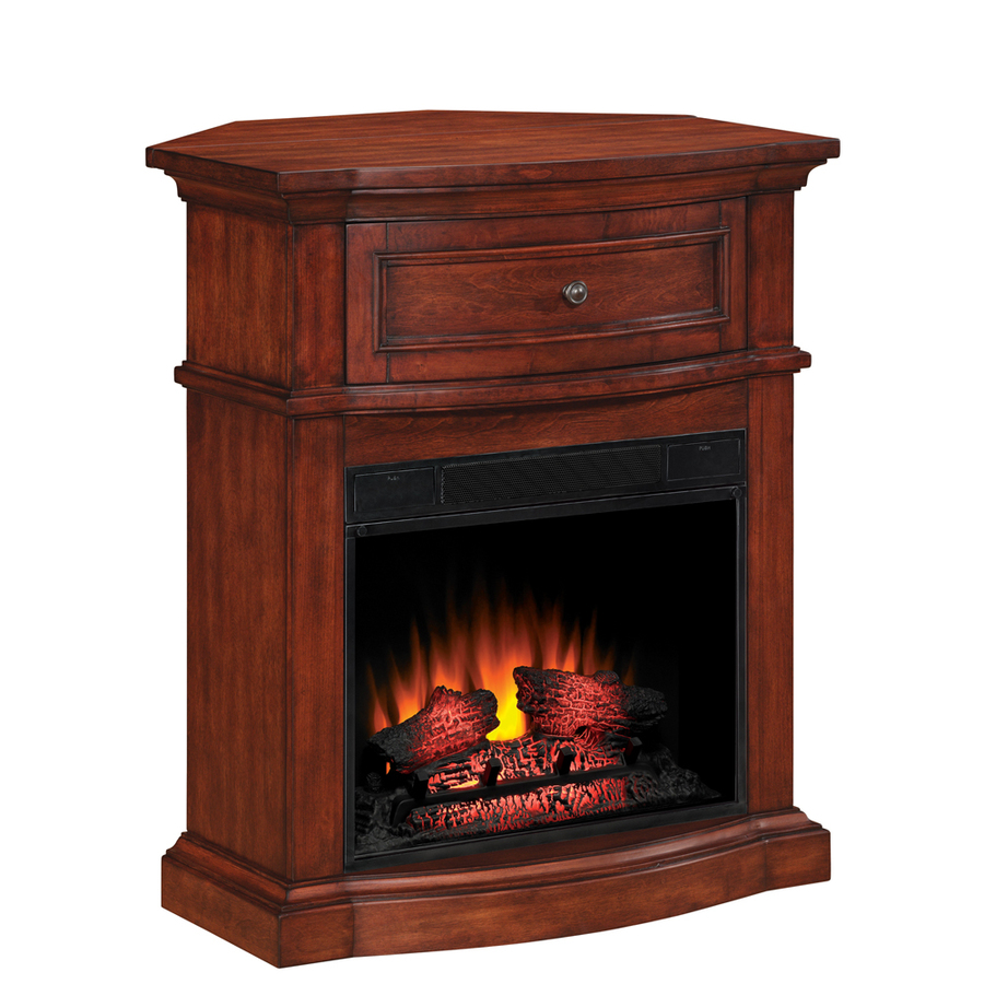 Shop Style Selections 32in Empire Cherry Corner Electric