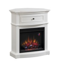 Shop Chimney Free 32-in W 4,600-BTU White Wood and Metal ...