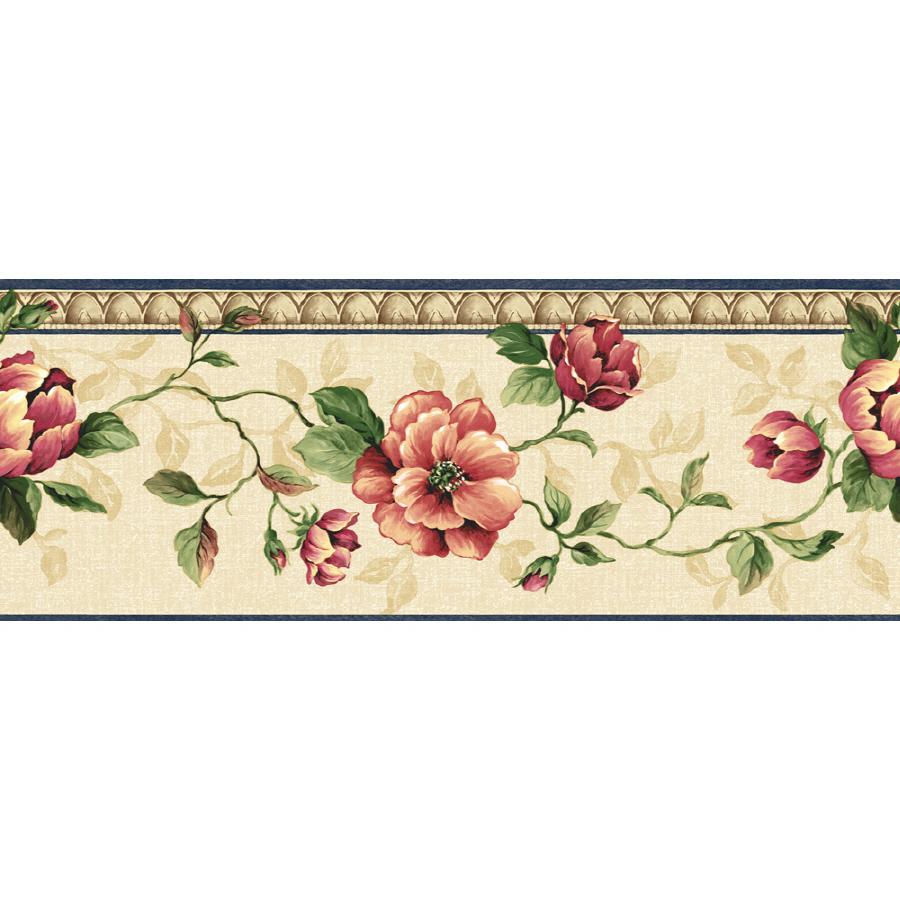 Shop Sunworthy 678 Architectural Rose Prepasted Wallpaper Border at Lowescom