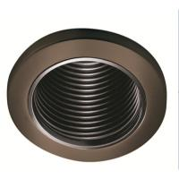 Shop Halo Tuscan Bronze Baffle Recessed Light Trim (Fits ...