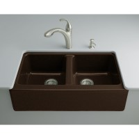Shop KOHLER Hawthorne 22.125-in x 33-in Black'N Tan Double ...