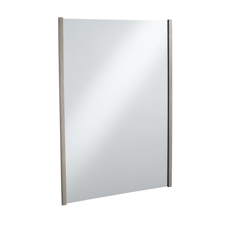 Bathroom Mirrors Brushed Nickel : Awesome Pink Bathroom
