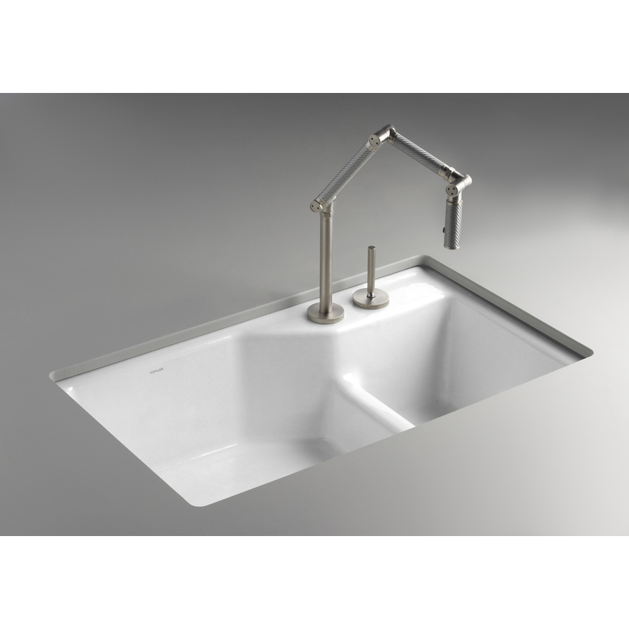 Undermount Cast Iron Kitchen Sink