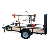 Shop Carry-On Trailer 14-in Weed Trimmer Rack at Lowes.com