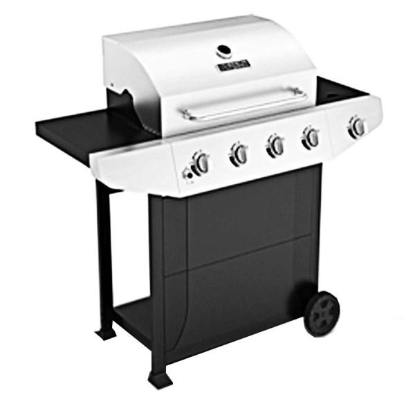 Master Forge Black Stainless Steel 4-burner 40 000