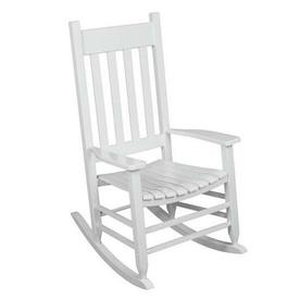 hard plastic outdoor rocking chairs chair hide a bed twin size patio at lowes com display product reviews for acacia with slat