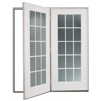 Shop ReliaBilt 6' ReliaBilt Center Hinged Patio Door