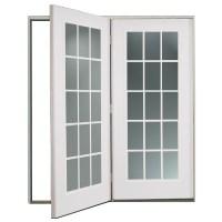 Shop ReliaBilt 6' ReliaBilt Center Hinged Patio Door