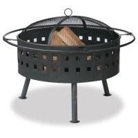 32' wood burning fire pit, Lowes | Backyard Renovation ...