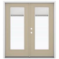 Shop ReliaBilt 71.5-in Blinds Between the Glass Fiberglass ...